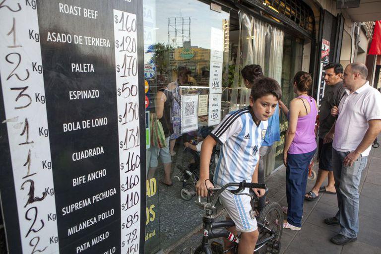 Aumento de preços em Buenos Aires, no último dia 15.