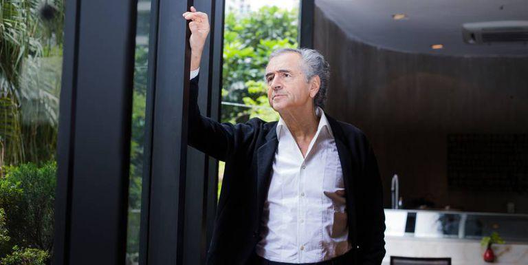 Bernard-Henri Lévy, durante sua visita a São Paulo, em 24 de novembro.