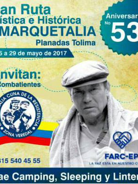Rota turística das FARC, ou como passar alguns dias no esconderijo