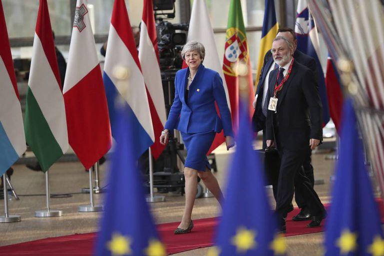 Merkel e Macron nesta quarta-feira, em Bruxelas.