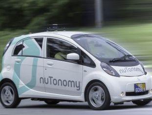 A nuTonomy, uma filial do MIT, se antecipa ao Uber e lança em Cingapura o primeiro veículo autônomo que pode ser alugado