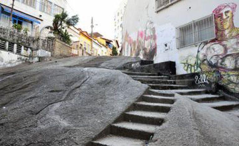 Pedra do Sal, no Rio de Janeiro.