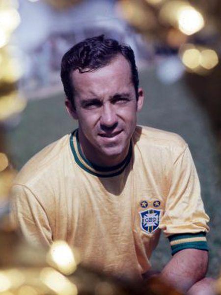 Tostão, quando era jogador do Brasil.