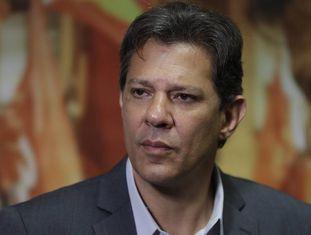 Fernando Haddad nesta quarta-feira.