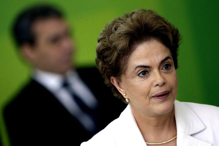 Dilma Rousseff em Brasília.