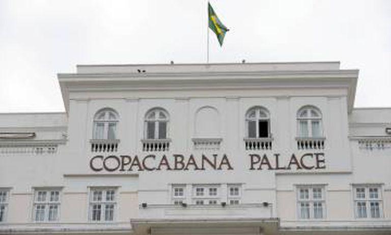 Fachada do hotel Copacabana Palace.