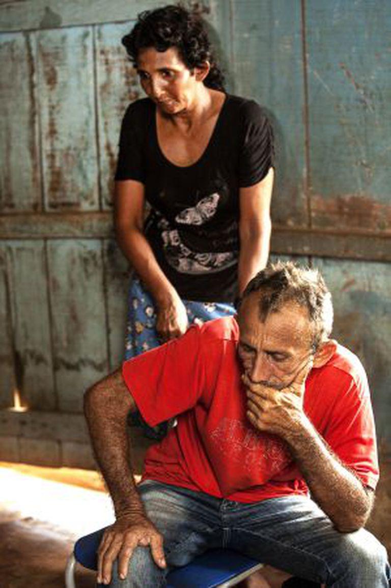 Otávio e Maria, dois exilados do Xingu.
