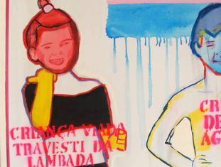 Travesti de lambada e deusa das águas, de Bia Leite, 2013.