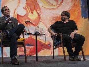 Jorge Mautner e Marcelino Freire.