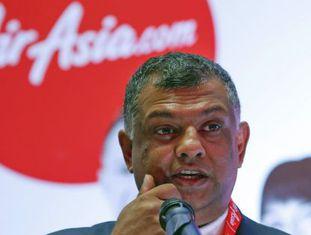 O malaio Tony Fernandes, fundador da companhia aérea AirAsia.