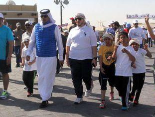 Contra obesidade, Qatar organiza caminhada no Dia do Esporte.