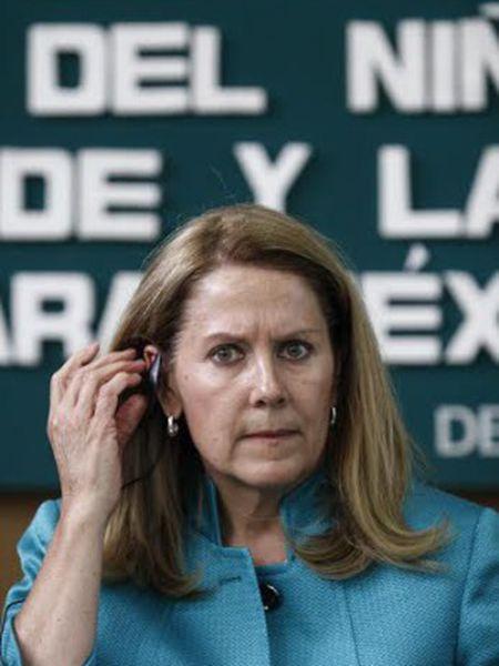 Barbara Blaine na Câmara dos Deputados mexicana.