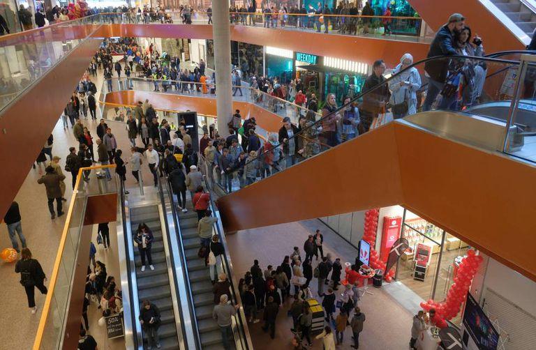 O shopping center East Side, em Berlim.