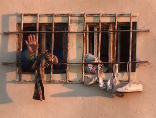 Detento na penitenciária de Topo Chico.