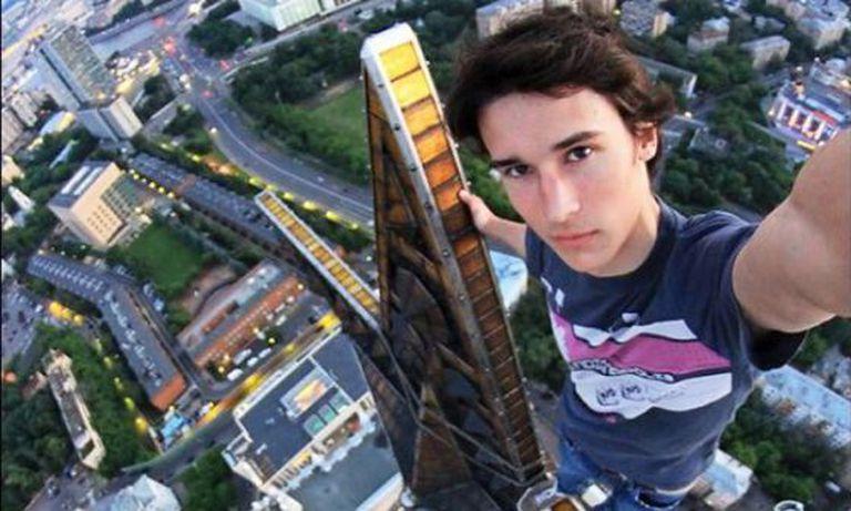 Kirill Oreshkin, o rei do 'selfie' radical.
