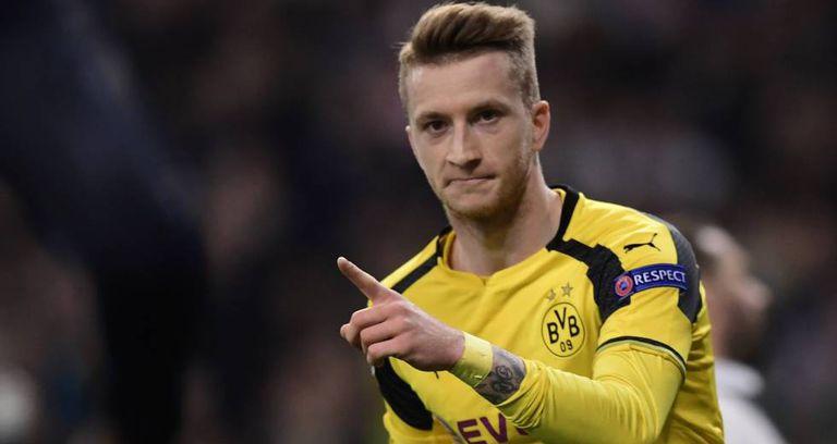 Reus marcou gol de empate do Dortmund.