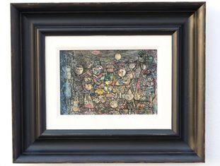 A pintura de Eduardo Abela 'Carnaval Infantil' será devolvida a Cuba.