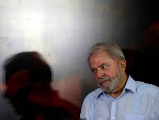 Lula, em ato um dia após sua condenação no TRF4.