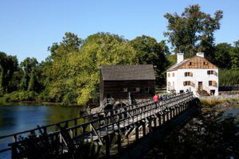 Molino de Philipsburg Manor, em Sleepy Hollow (Nova York).