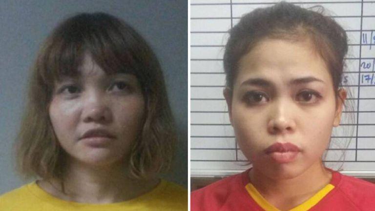 Fotos da vietnamita Doan Thi Huong e da indonésia Siti Ashyah