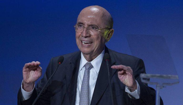 Ministro da Fazenda, Henrique Meirelles, participa de evento para investidores em São Paulo.