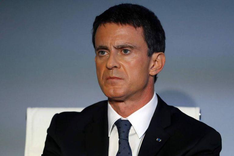 Manuel Valls, nesta sexta-feira, na apresentação de uma campanha contra o yihadismo, em Paris.