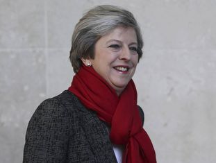 A primeira-ministra britânica, Theresa May.