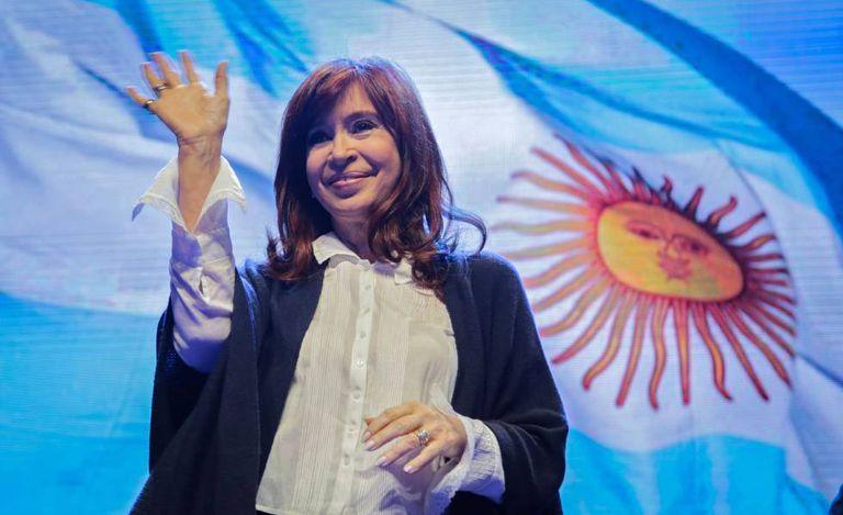 A ex-presidenta Cristina Fernández de Kirchner durante o lançamento de seu livro 'Sinceramente' em Mar del Plata