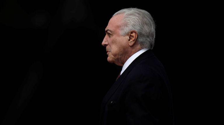 Temer no dia 19, em Brasília.