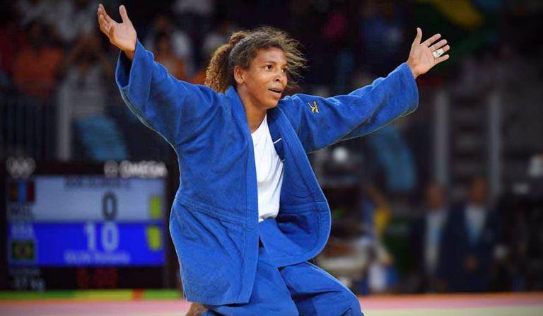 Rafaela Silva foi medalhista de ouro na Olimpíada do Rio.
