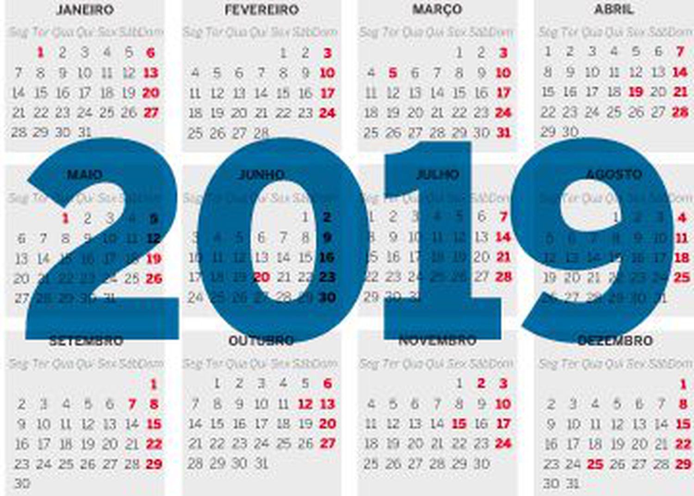 Calendario 2020 Brasil Com Feriados.Feriados Do Brasil Em 2019 Saiba Quais As Chances De
