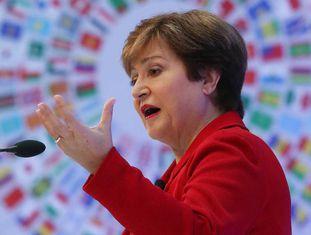 Kristalina Georgieva, diretora-geral do FMI, na sede em Washington.