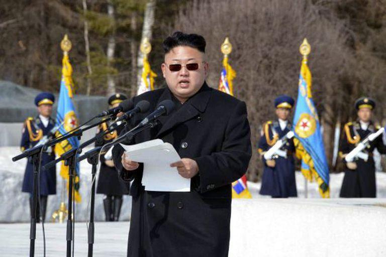Kim Jong-un, em abril de 2014.