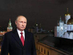 Putin, em sua mensagem de Ano Novo.