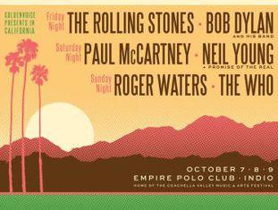 Festival do século' Desert Trip confirma a histórica reunião e anuncia o começo da venda de ingressos