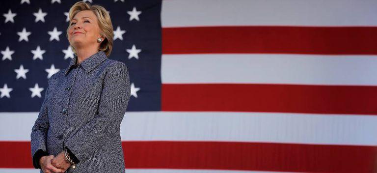 Hillary Clinton, no passado mês de setembro.