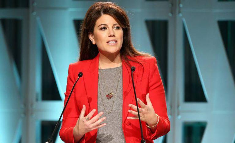 Monica Lewinsky durante uma conferência em Los Angeles em dezembro de 2018.