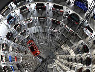 Fábrica da Volkswagen em Wolfsburg (Alemanha).