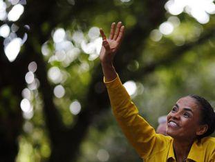 Marina Silva, na sexta no Rio de Janeiro.