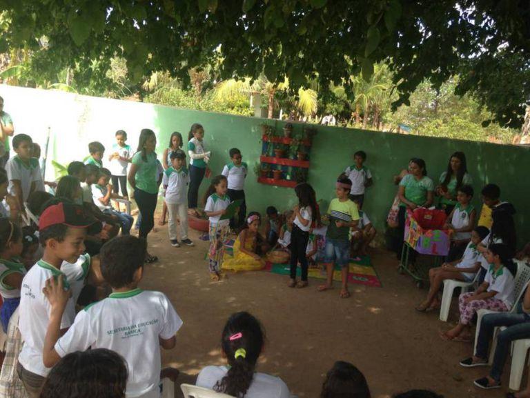 Escola em Brejo Santo, no Ceará.