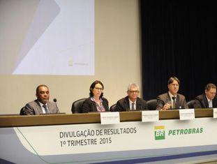 Diretoria da Petrobras divulga os resultados do 1º trimestre de 2015