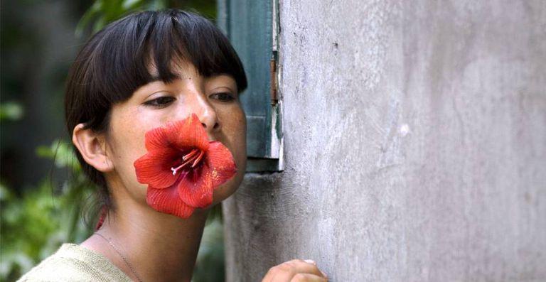 Magaly Solier em 'A teta assustada'.