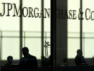 O escritório de JP Morgan em Nova York.