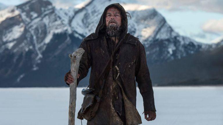Sua interpretação limite do explorador Hugh Glass em 'O Regresso' pode lhe render o primeiro Oscar.
