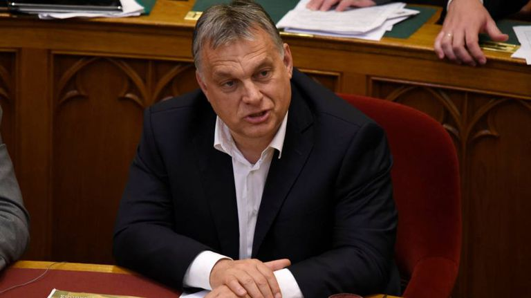 O primeiro-ministro húngaro, Viktor Orban.