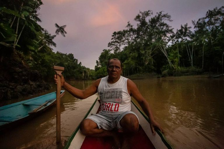 Osvaldo Batista, ex-presidente da Arquig, passou anos sendo ameaçado pelos feitores da Fazenda São Joaquim