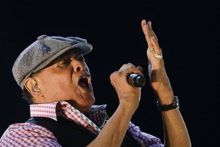 Al Jarreau no Rock in Rio, no Rio de Janeiro.
