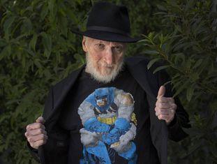 Frank Miller em Barcelona durante o Salão de Quadrinhos.