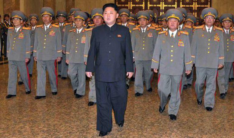Foto de arquivo do 'líder supremo' da Coreia do Norte, Kim Jong-un.