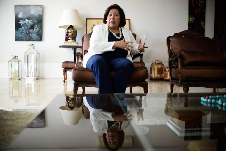 A jurista Eliana Calmon.